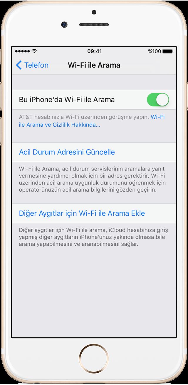 Oguzhanavci.com iPhone VoWifi Ayarı Yapma - Aktifleştirme