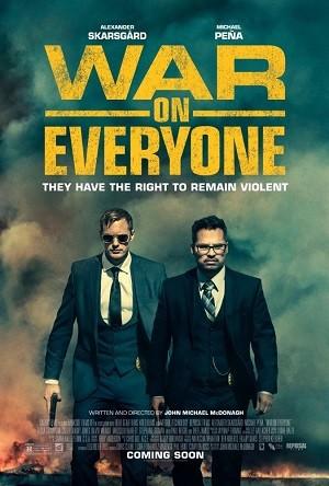 Herkese Karşı - War on Everyone 2016 BRRip XViD Türkçe Dublaj  - Film indir  Tek Link Film indir