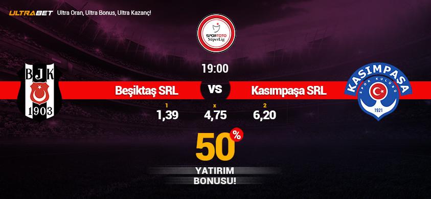 Beşiktaş - Kasımpaşa Simülasyon Maçı