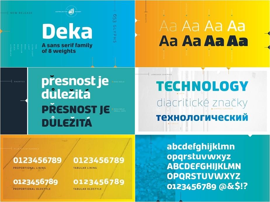 Deka Font Türkçe 8 OTF (ÖZEL FONT)