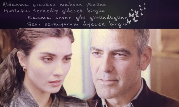 George Clooney and Tuba Buyukustun Photoshopped Pictures WMOpNM