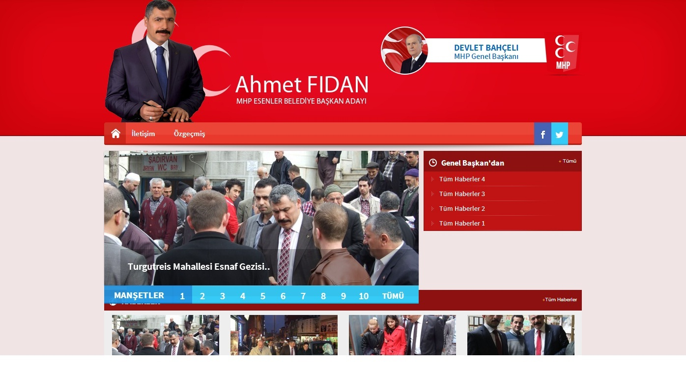 Ahmetfidan.tc Açıldı