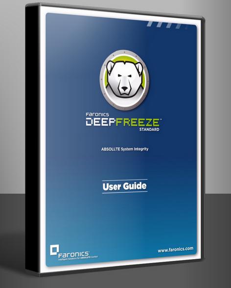 Deep freeze standart özellikle internet kafeler için çok faydalı