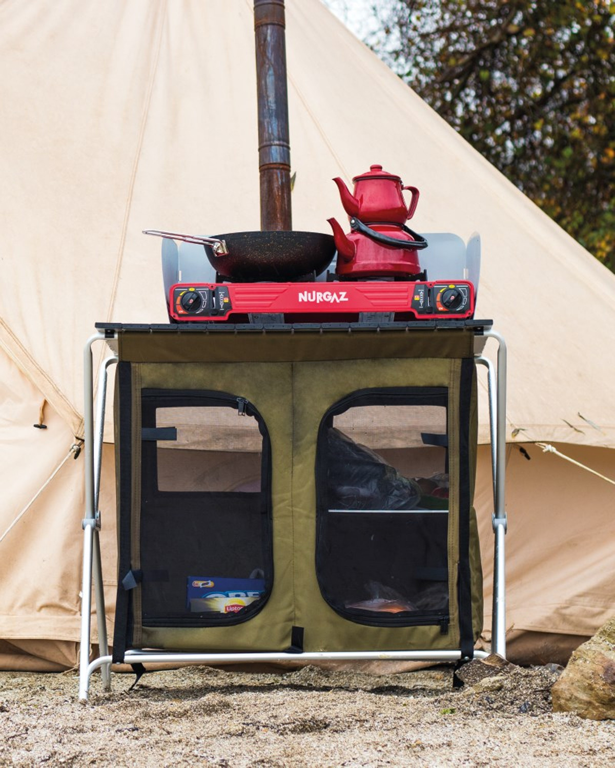 nurgaz campout kamp mutfağı