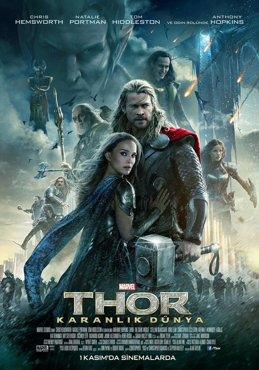 Thor 2 Karanlık Dünya – Thor The Dark World 2013 Türkçe Dublaj