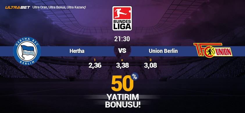 Hertha vs Union Berlin – Ultrabett'e Canlı İzle
