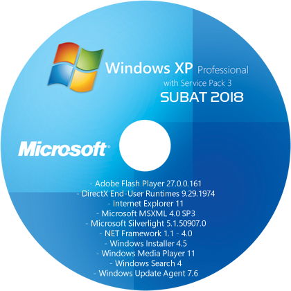 Windows XP Professional SP3 (x86) TR - [13 ŞUBAT 2018]