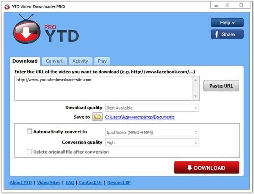 YTD Video Downloader Pro 5.9.3.1 Multilingual Full İndir