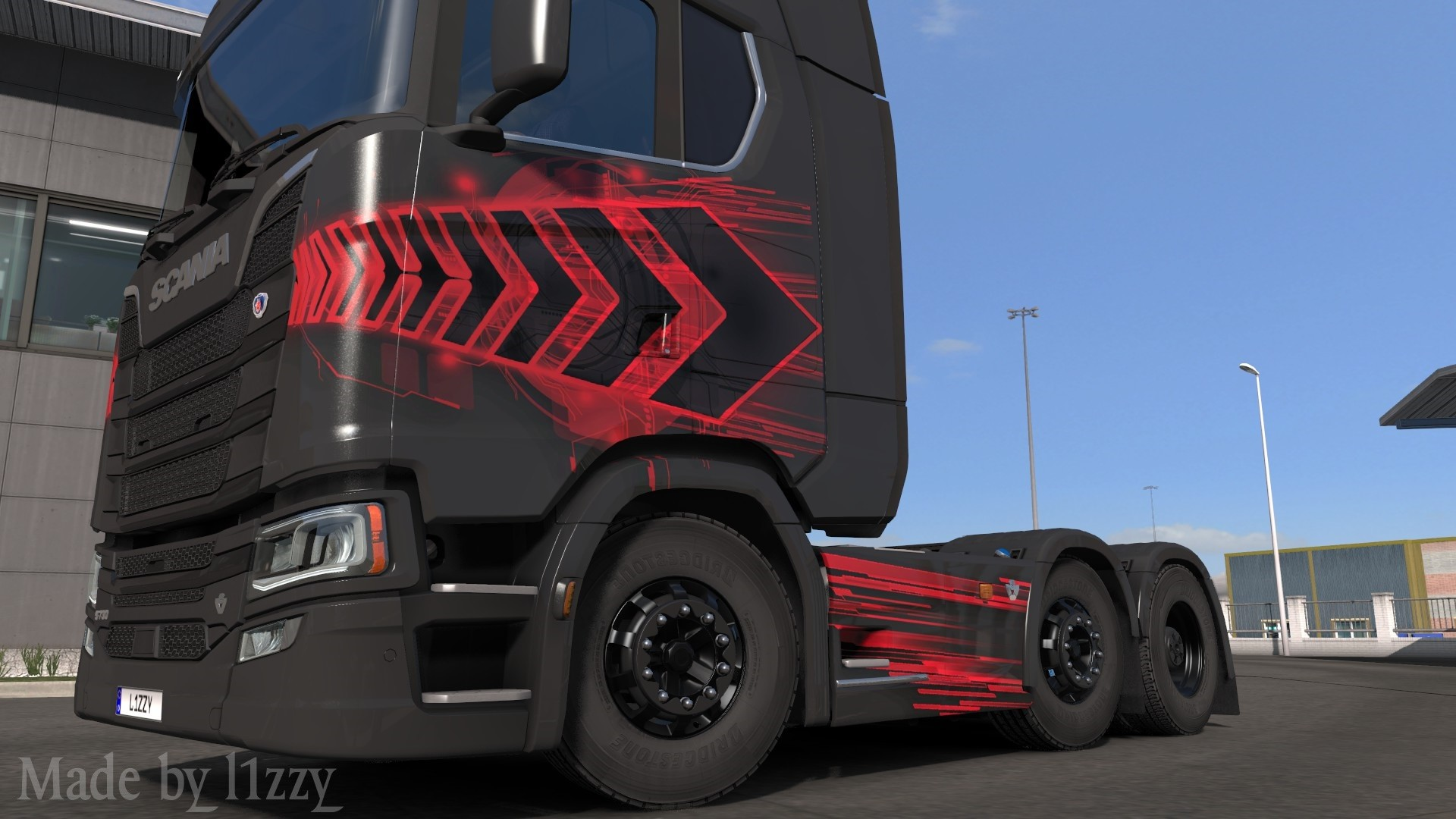 Scania S - Insomnia Paintjob by l1zzy