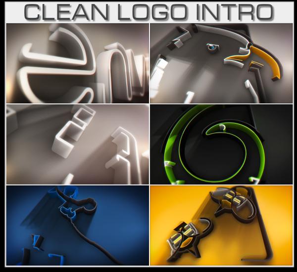 Clean Logo Intro - 3