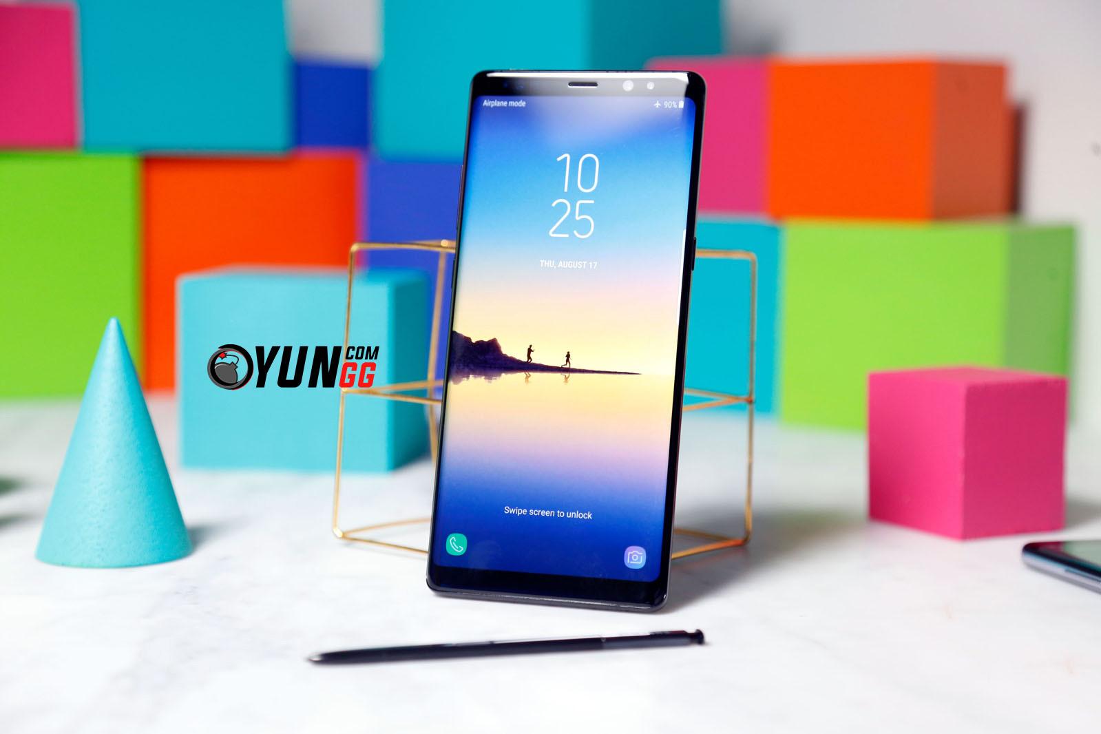 Büyük Gün! İşte Karşınızda Samsung Galaxy Note 8!