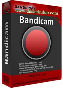 Bandicam Oyun Videosu Kaydetme Programı Son Sürüm İndir