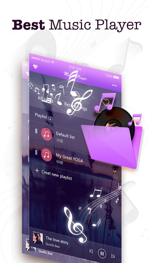 Music Player & Radio Android APK 1.6.0 Full İndir