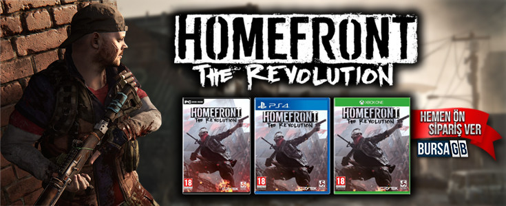 Homefront The Revolution Ön Siparişle Satışta