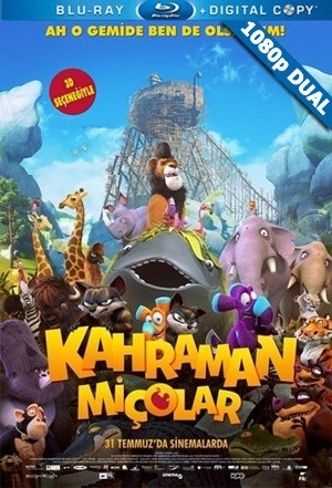 Kahraman Miçolar - Ooops! Noah is Gone | 2015 | BluRay 1080p x264 | DUAL TR-EN