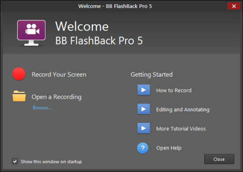 BB FlashBack Pro 5.30.0.4329
