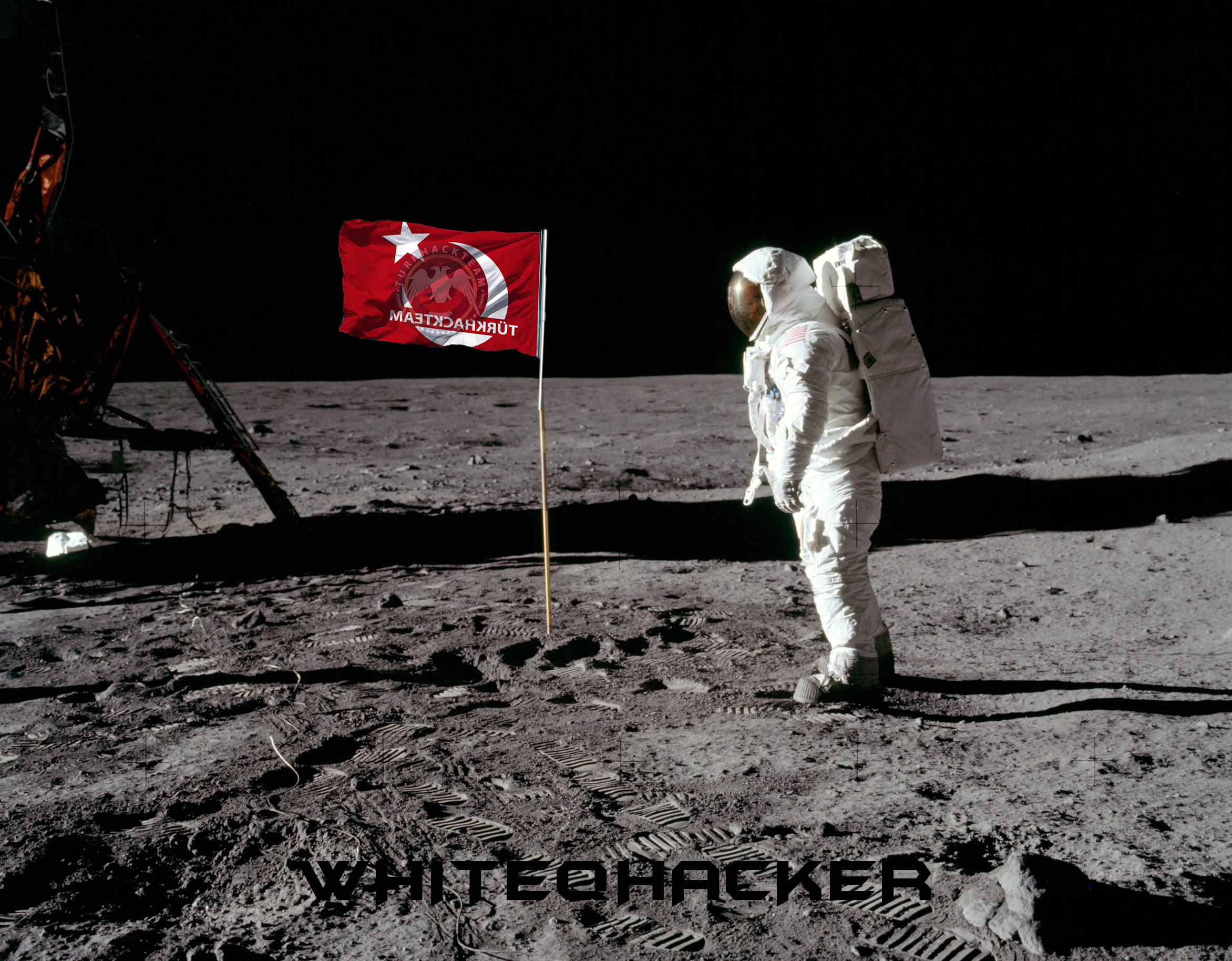 neil armstrong on the moon - HD 2560×1440