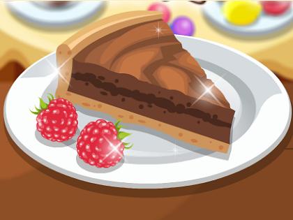 Çikolatalı Turta Yap Oyunu