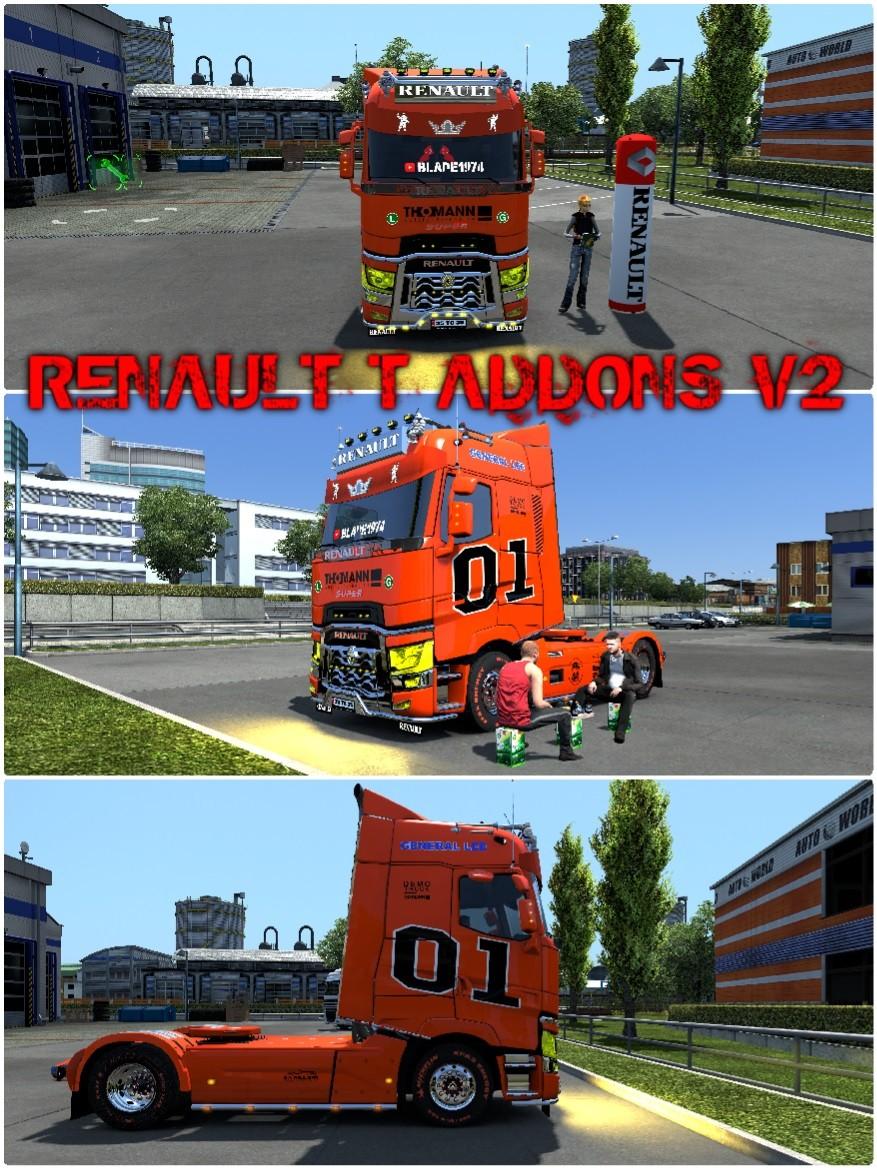 Renault T Addons v2.1