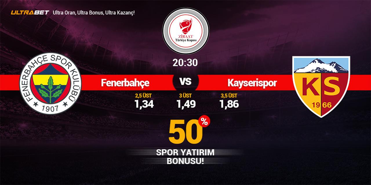 Fenerbahçe - Kayserispor Canlı Maç İzle