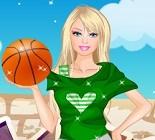 Basketbolcu Barbie Oyunu
