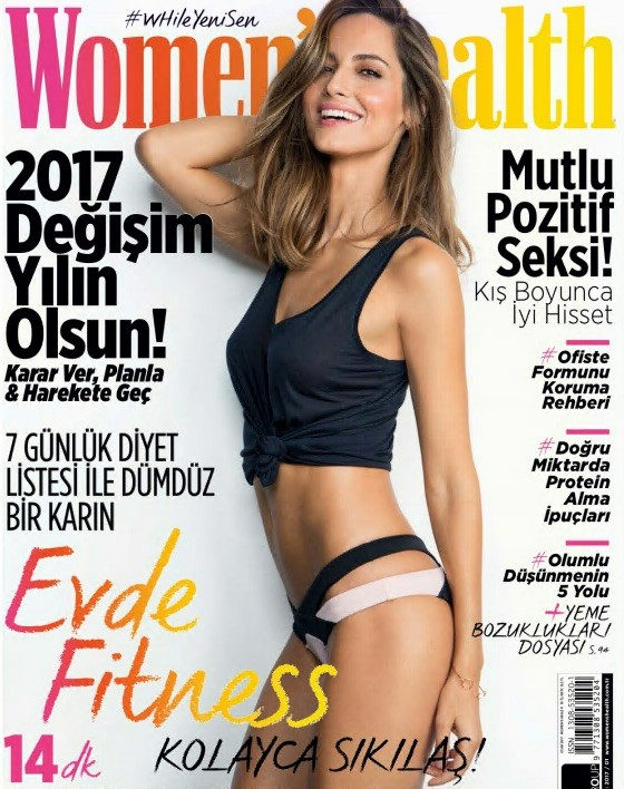 Women's Health Ocak 2017