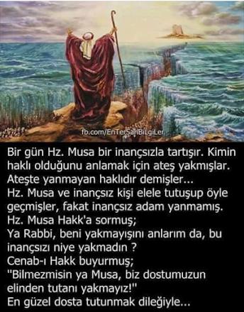 Hz. Musa (a.s.(  kıssası