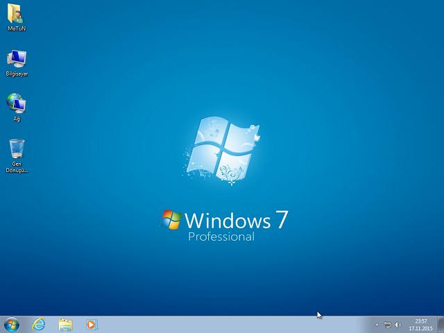 Windows 7 Pro VL X64 | Office 2016 | Kasım 2015 Güncel