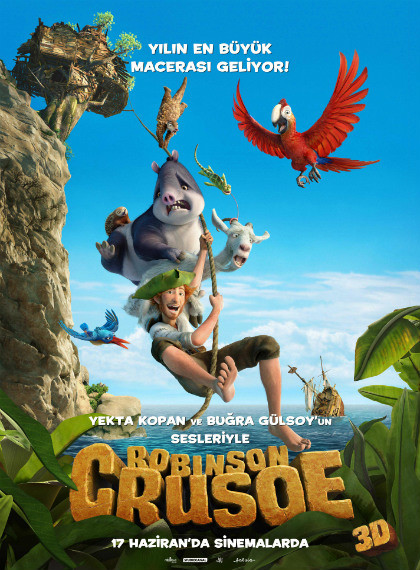 Robinson Crusoe 2016 BluRay 720p – 1080p DUAL TR-ENG – Tek Link