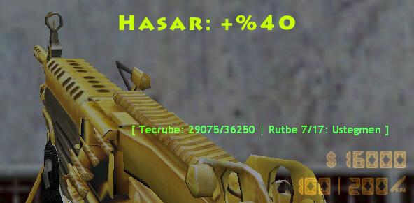 Hilal gaming golden M249
