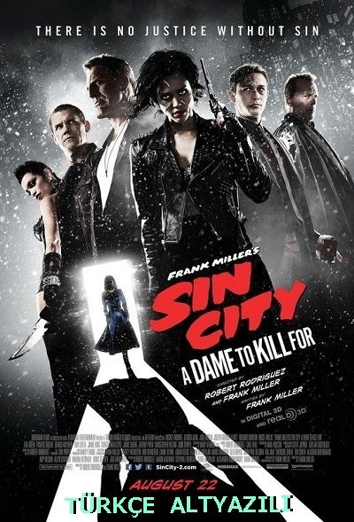 Günah Şehri: Uğruna Öldürülecek Kadın 2014 720p Bluray x264 Türkçe Altyazılı