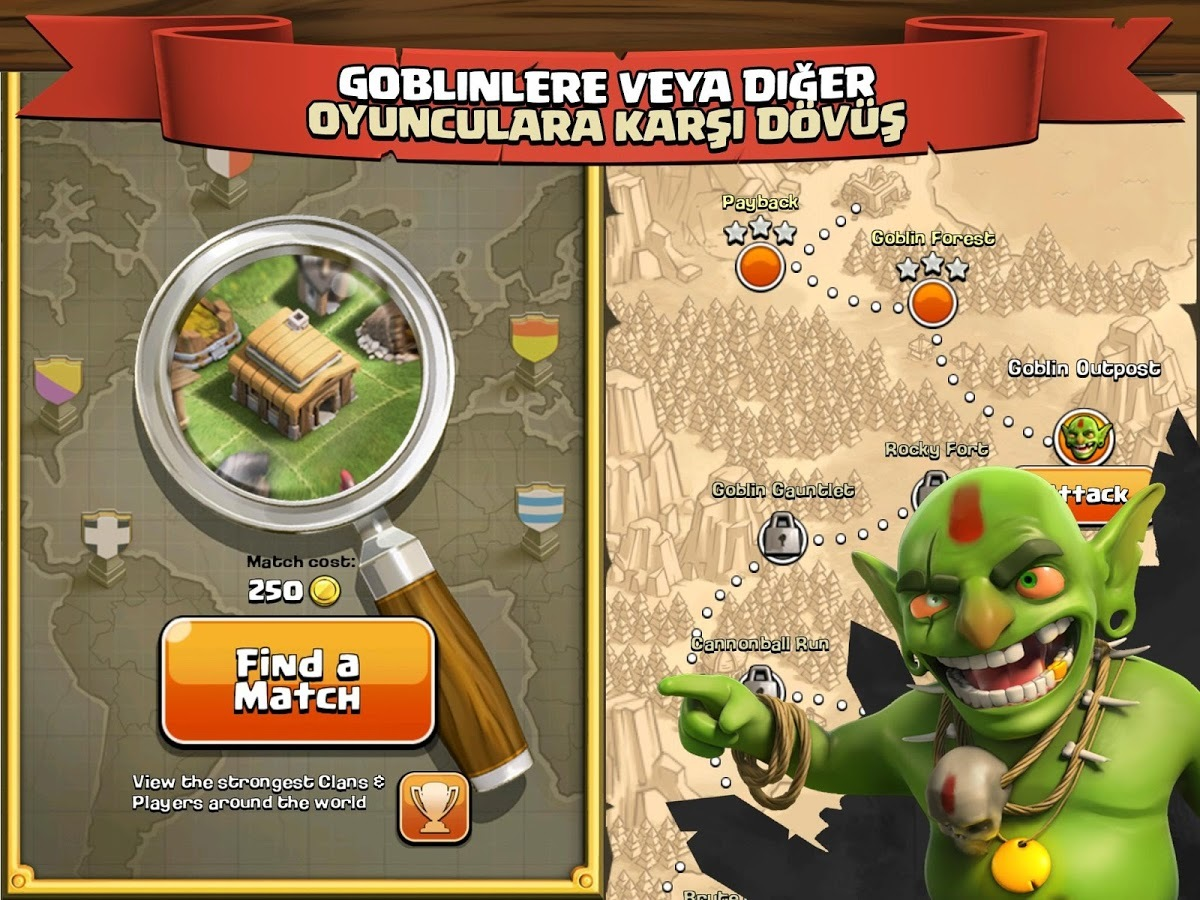 Clash of Clans İOS Hile