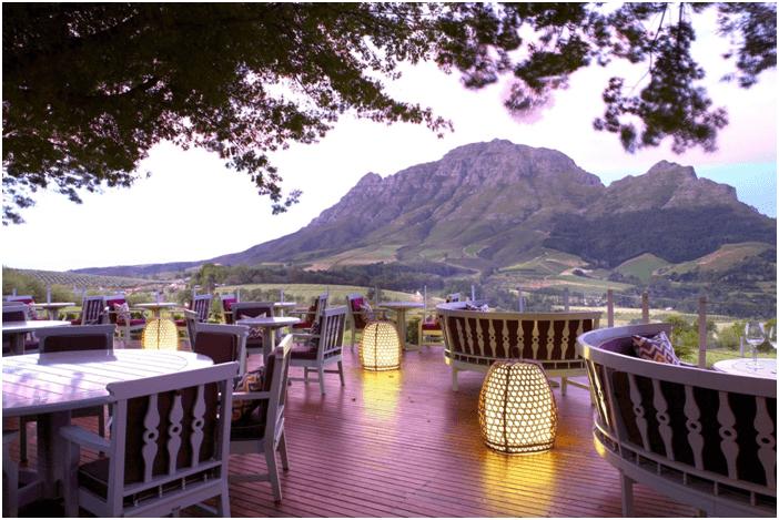 Delaire Graff Restaurant Güney Afrika