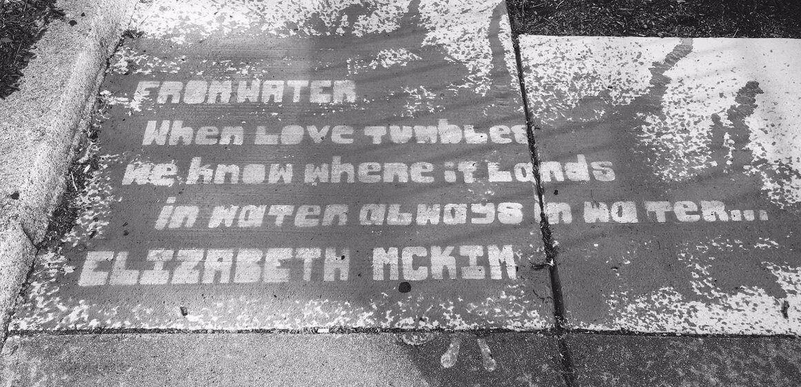 boston şiir sokakta