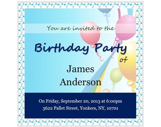 Balonlu Doğum Günü Partisi