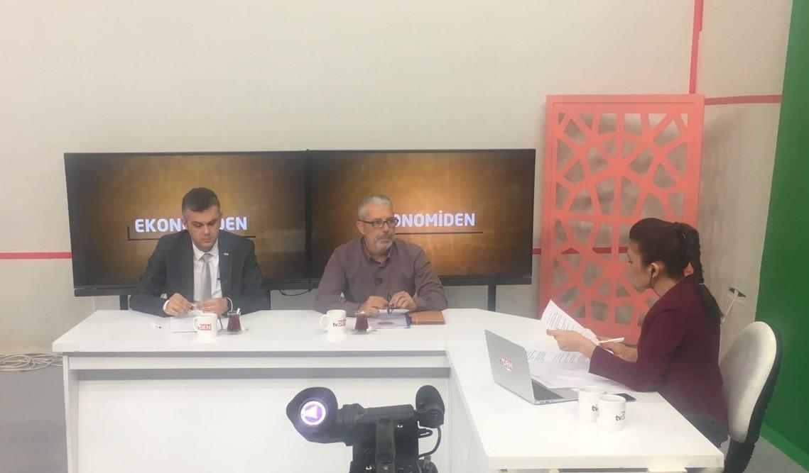 AYDIN DENGE TV' DE EKONOMİDEN PROGRAMINA KATILDIK