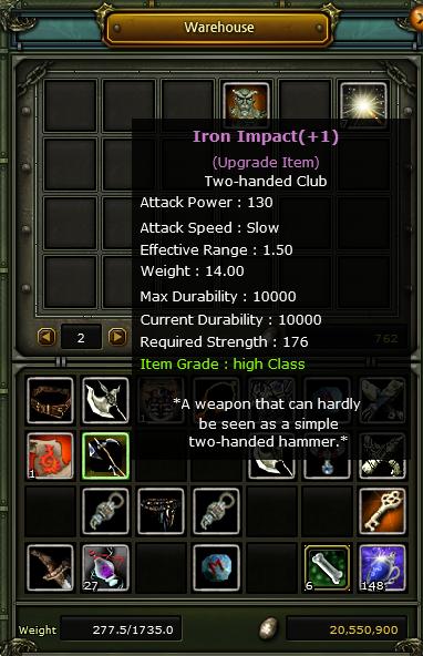 iron impach +1