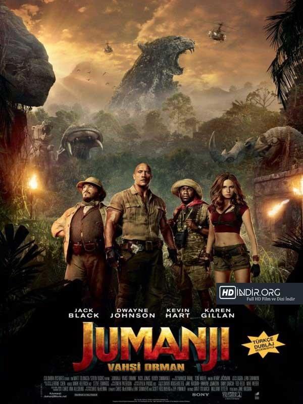 Jumanji: Vahşi Orman - Jumanji: Welcome to the Jungle (2017) Türkçe Dublaj İndir