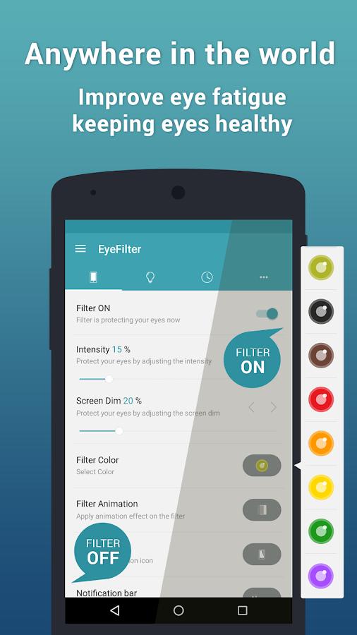 EyeFilter PRO - Bluelight Apk