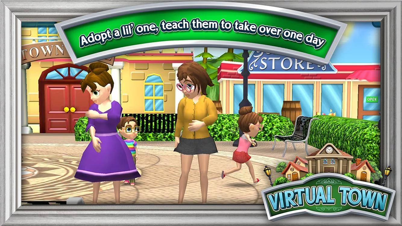 Virtual Town Apk İndir