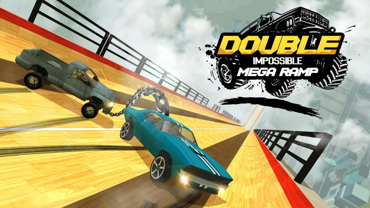 Double Impossible Mega Ramp 3D Apk