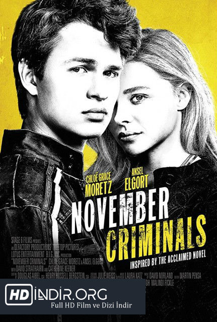 Kasım Suçluları - November Criminals (2017) Türkçe Dublaj HD İndir