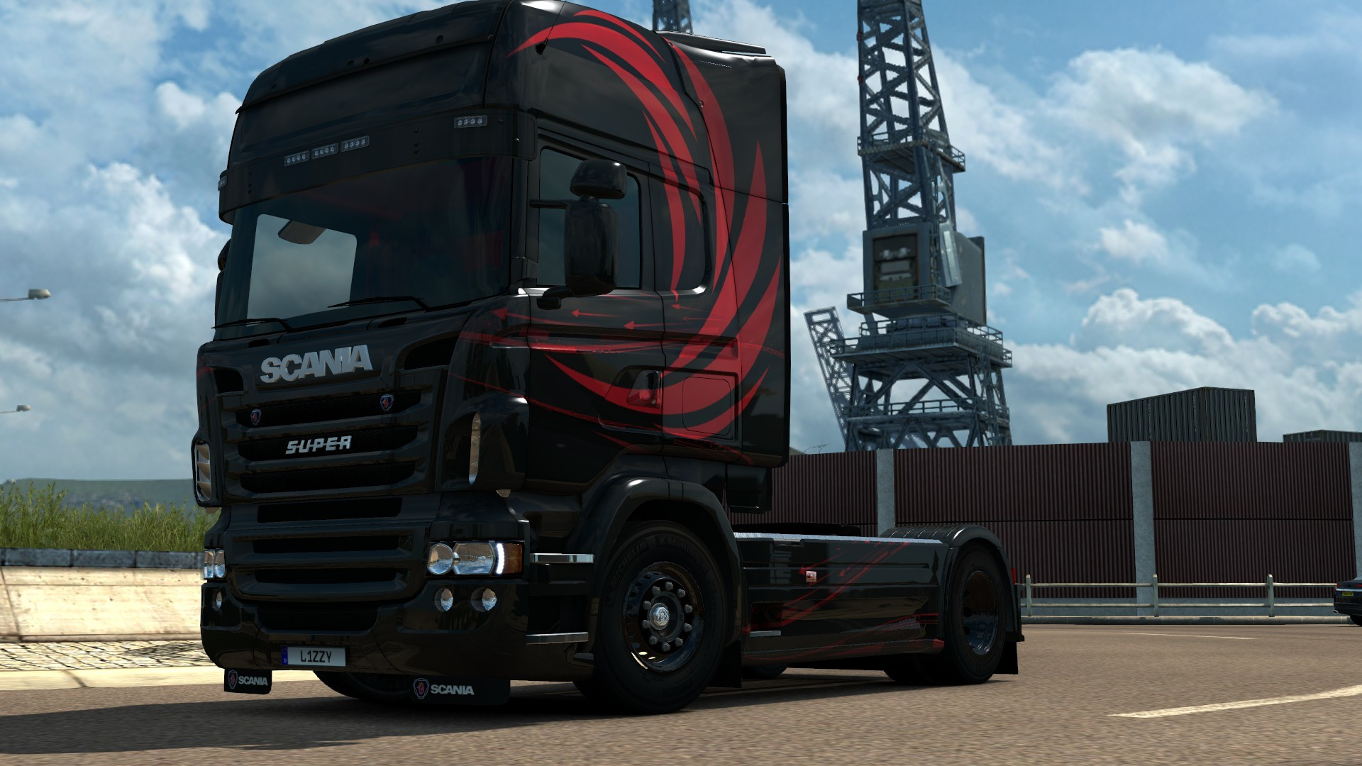Scania RJL - Accessio Paintjob by l1zzy