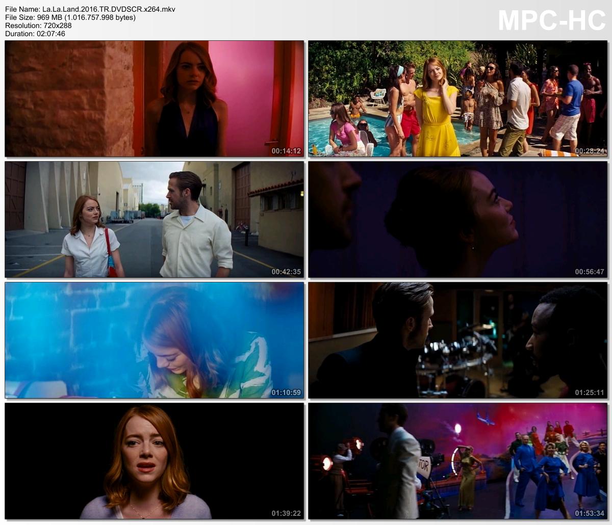 Aşıklar Şehri – La La Land 2016 (Türkçe Dublaj) DVDSCR x264