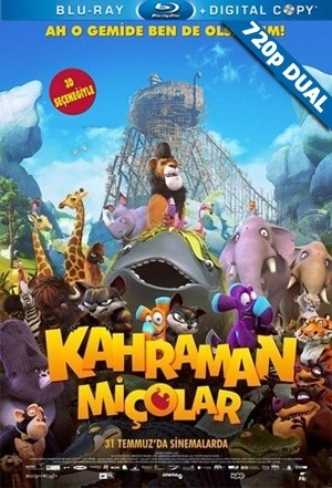 Kahraman Miçolar - Ooops! Noah is Gone | 2015 | BluRay 720p x264 | DUAL TR-EN