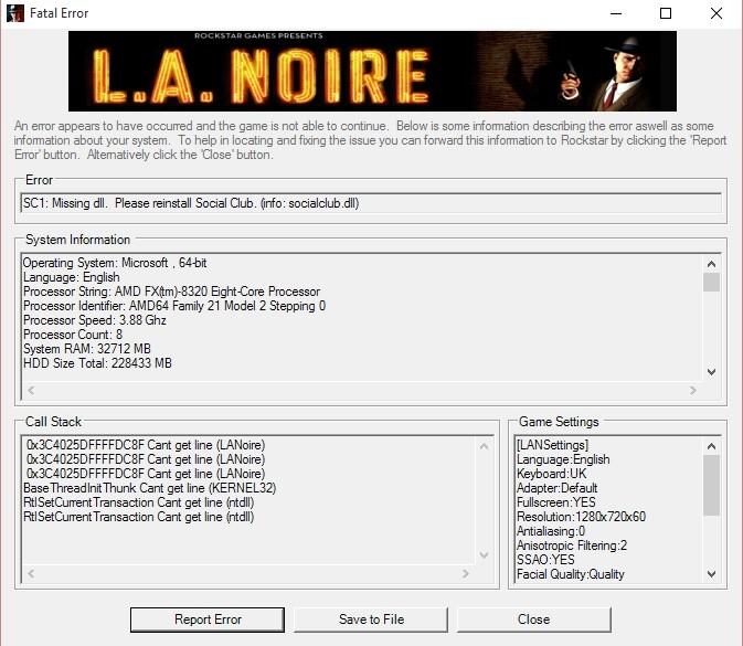 la noire crack skidrow free download