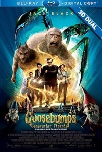Canavarlar Firarda 3D – Goosebumps 3D 2015  3D BluRay Half-SBS 1080p  DuaL TR-EN – Tek Link