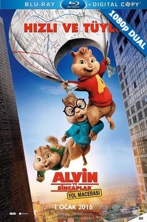 Alvin ve Sincaplar: Yol Macerası | 2015 | BluRay 1080p x264 | DuaL TR-EN - Tek Link