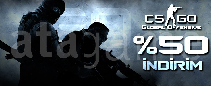Counter-Strike: Global Offensive - %50 İndirim!
