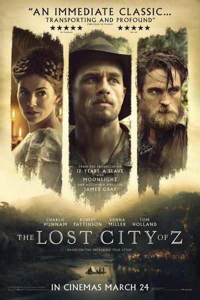Kayıp Şehir Z -  The Lost City of Z (2016) BRRip XviD Türkçe Dublaj İndir